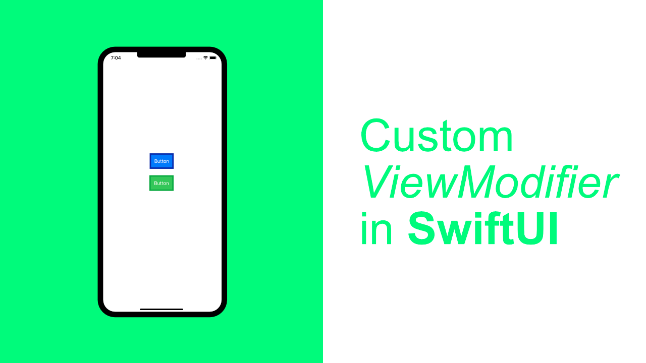 Create a Custom ViewModifier in SwiftUI