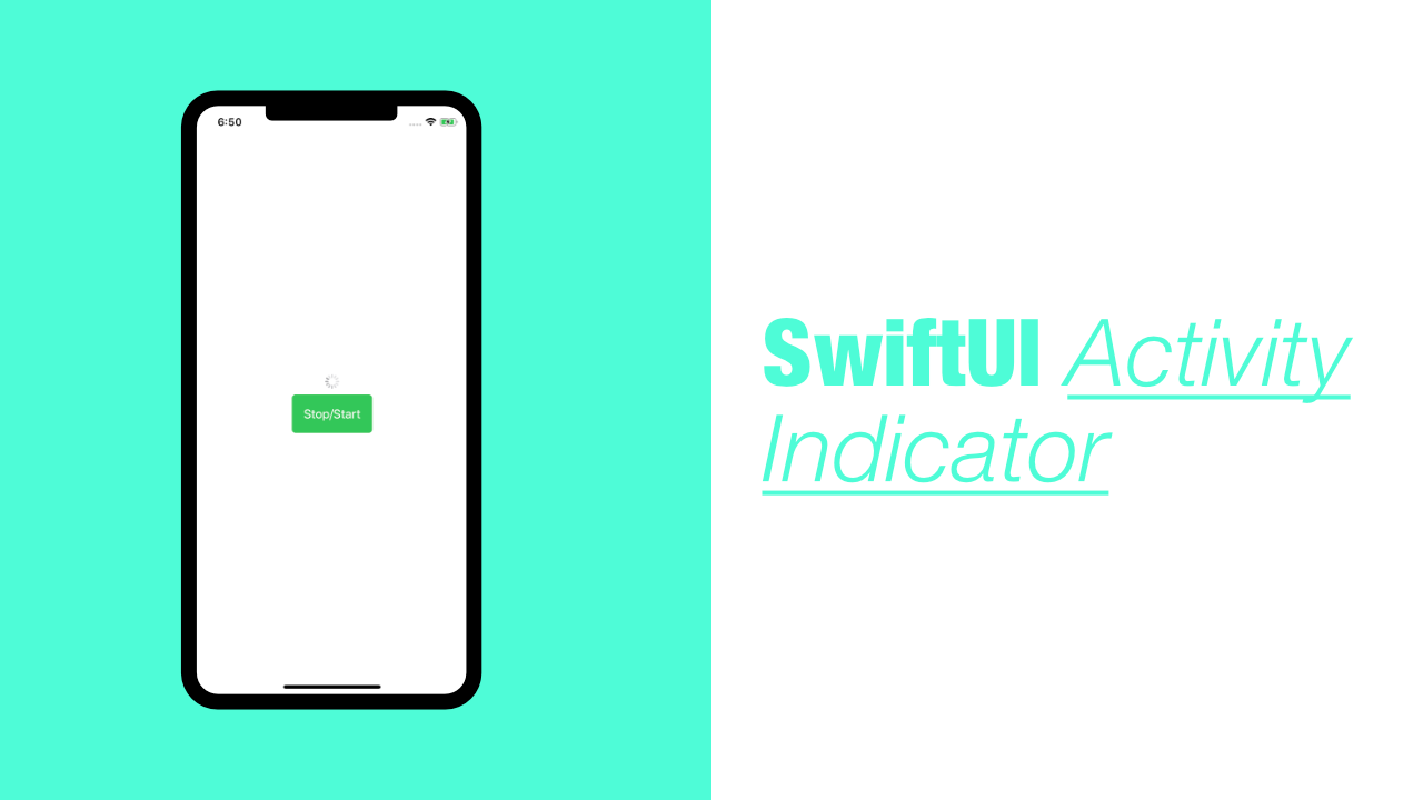 SwiftUI Activity Indicator
