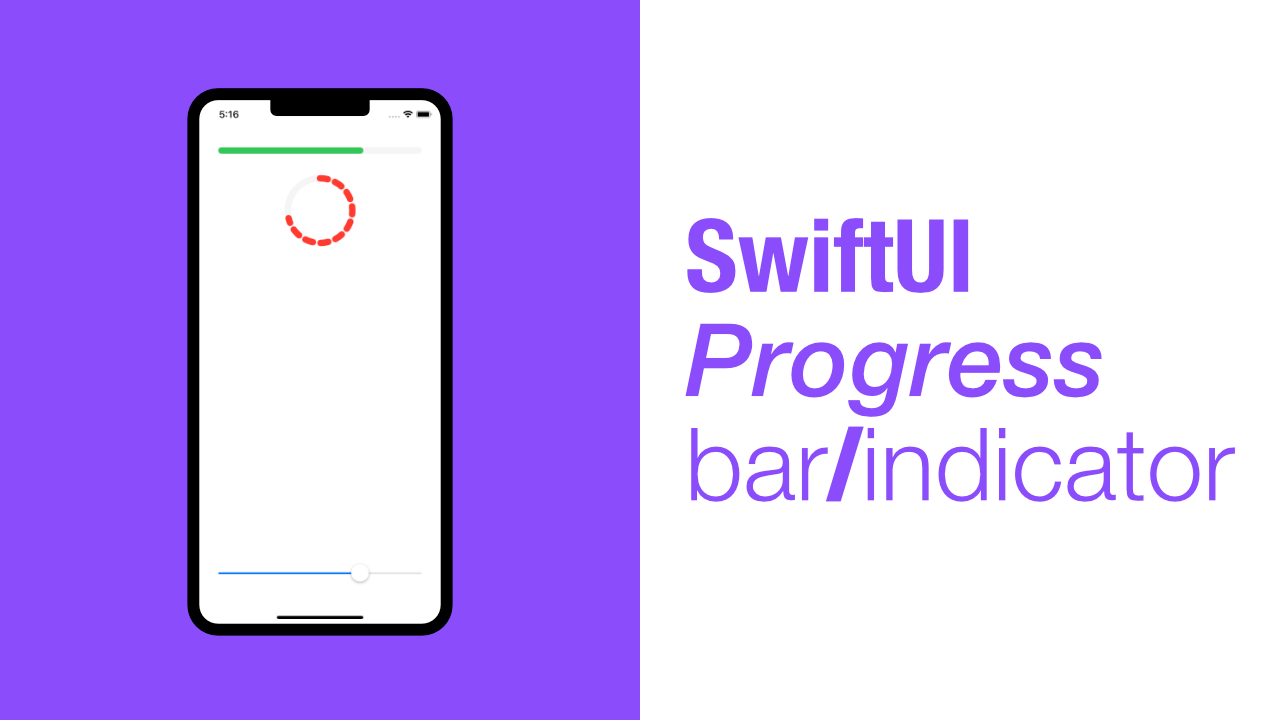 SwiftUI Progress bar/indicator