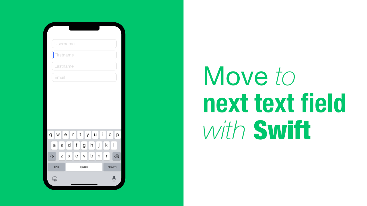 Move to next text field with Swift