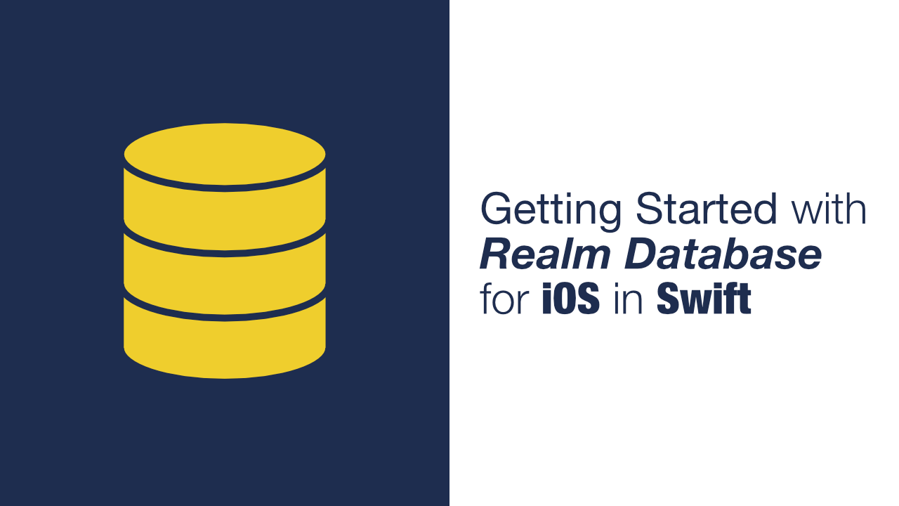Getting Started with Realm Database for iOS in Swift