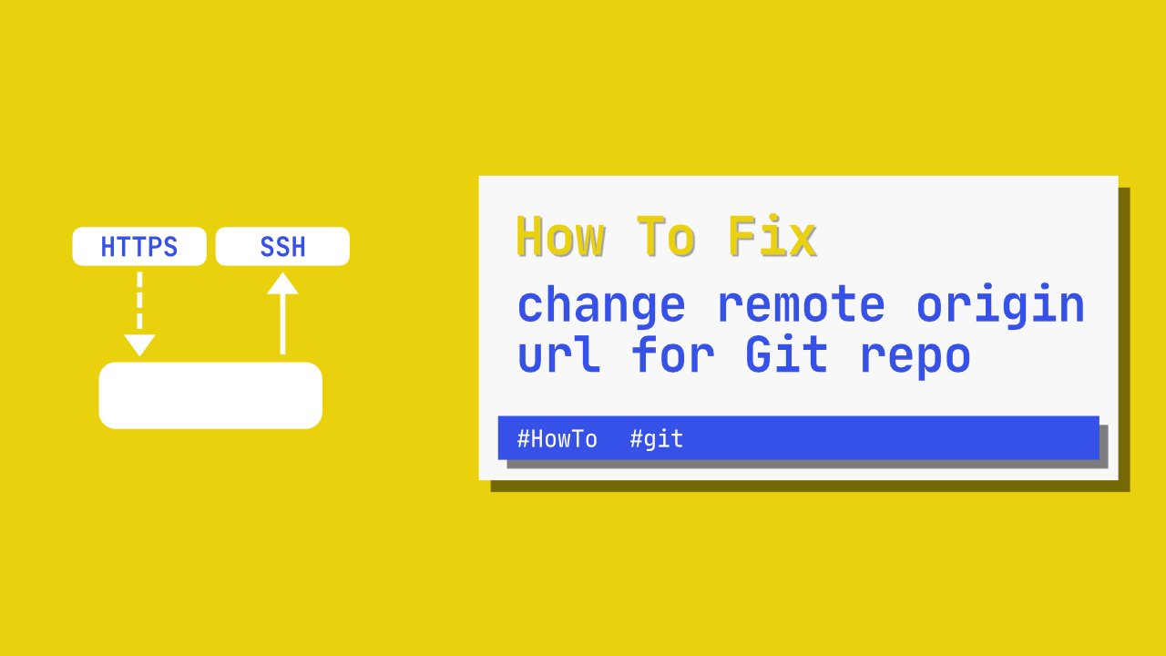 How to change remote origin url for Git repo